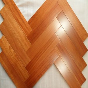 UV Lacquer Smooth Kempas Hardwood Flooring