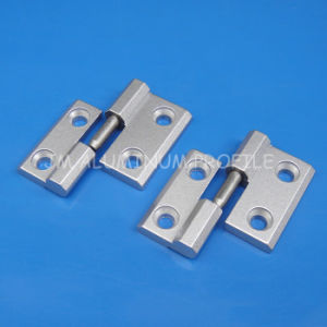Zn-Alloy Industrial Hinge Detachable Hinges for 3030 Aluminum Profile pictures & photos
