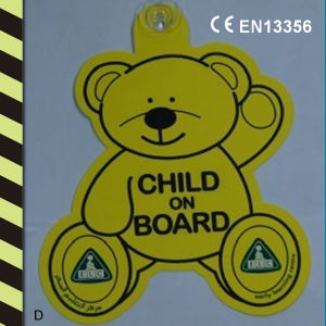 Reflective Safety Child on Board with CE En13356 pictures & photos