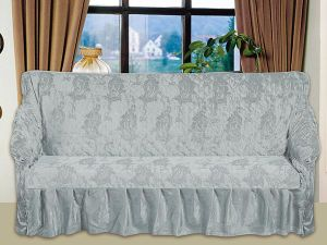 China T C Jacquard Sofa Cover Set With Quilting For Israel Market