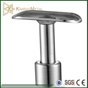 Stainless Steel Glass Balustrade Adjustable Saddle