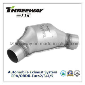 Car Exhaust System Three-Way Catalytic Converter #Twcat022 pictures & photos