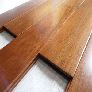 Chocalate Color Prefinished Stained Taun Hardwood Flooring