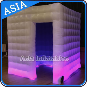 Colorful LED Inflatable Photo Booth / Photo Booth Backdrop for Party pictures & photos