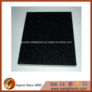 Hot Sale China Black Galaxy Granite Tiles for Tile/Slab/Tombstone/Flooring