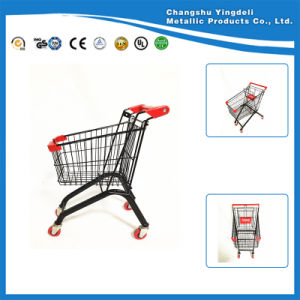 Small Size Supermarket Trolley Cart Plasic Cart Toys for Children
