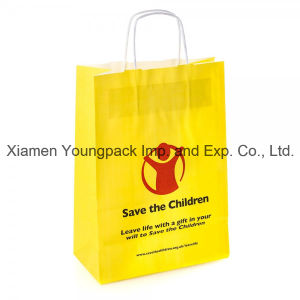 Promotional Custom Printed Recycled Kraft Paper Advertising Bag pictures & photos