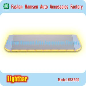 Super Slim Aluminum Housing Emergency Light Police Warning Lightbar for Fire Vehicle