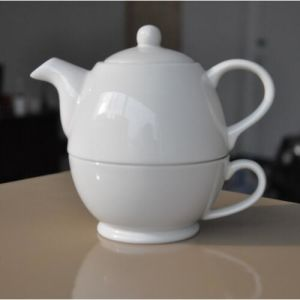 Ceramic Teapot Gift Ceramic Coffee Cup and Pot Porcelain Teapot Cup Set pictures & photos