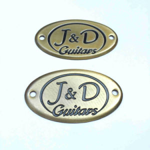 China Metal Logo Plate for Furniture Antique Brand Plate ...