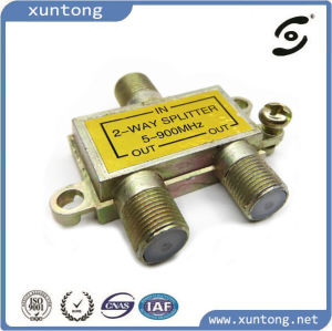 5 to 900MHz 2 Way Splitter for CATV Antenna pictures & photos