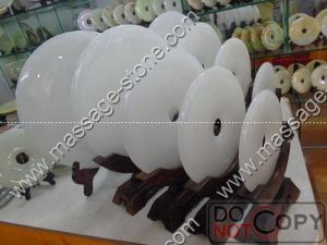 Wholesale White Jade Bi and Jade Disc for Home Decoration