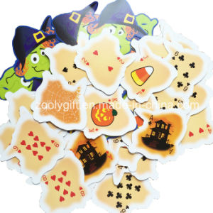 Die- Cut Board Games Play Card Products for Children / Halloween Custom Printed Play Card Games Wholesale pictures & photos
