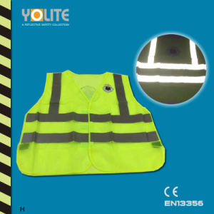 Reflective Safety Vest with CE En13356 for Roadway Safety pictures & photos