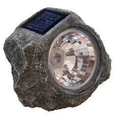 Solar Spot Light with 3 White LEDs pictures & photos