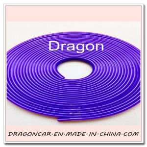 New Universal 7m Anti-Scratch Rubber Rim Guard Car Wheel Rim Protector Purple pictures & photos