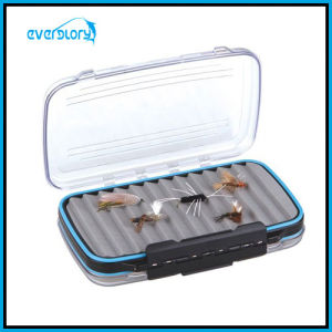 Water Proof Double Side Fly Box Fishing Tackle