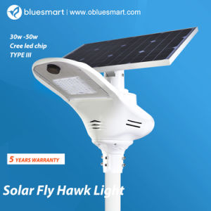 Sensor Solar Products LED Street Light for Project