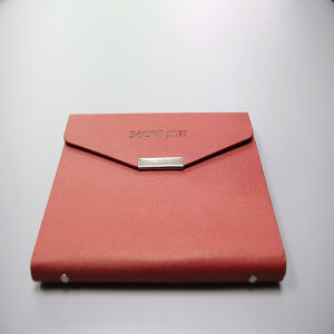 Leather Cover Business Notebook Printing with Pocket Inside The Cover pictures & photos