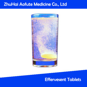 Healthy Food Effervesent Tablets (OEM) pictures & photos