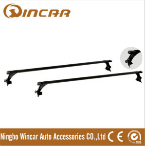 Universal Car Cross Bar with Rain Gutter
