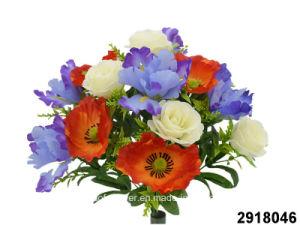 China artificialplasticsilk flower poppyirisrose mixed bush artificialplasticsilk flower poppyirisrose mixed bush 2918046 mightylinksfo