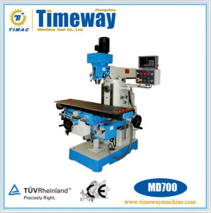 Universal Milling Drilling Machine (MD600, MD700, MD800) pictures & photos