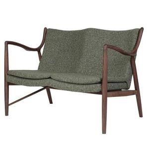 Finn Juhl Lounge Two Seater Chair Living Room Sofa