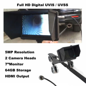 Under Vehicle Inspection System with Double Security Checking Cameras with 7 Inch Monitor pictures & photos