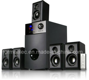 5.1CH Multimedia Speaker Home Theater Subwoofer 50W+18W*5 pictures & photos