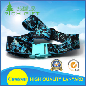 Fashion Style Luggage Belt with Heat Transfer Printing pictures & photos
