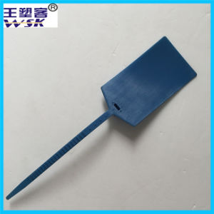 China Seal Factory Direct-Selling Blue Plastic Security Container Seal (PP)