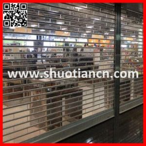 Full Vision Transparent Rolling Shutter (ST-003) pictures & photos