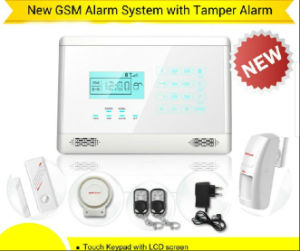 Home GSM Alarm System with Touchscreen Keypad and LCD Display (YL-007M2E) pictures & photos