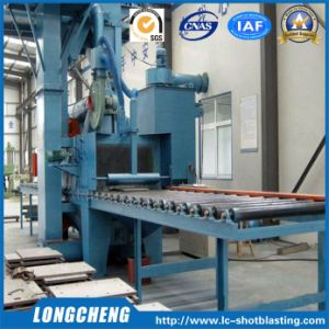 Good Quality Roller Conveying Abrasive Blasting Machine