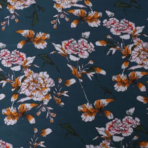 Beautiful Design Home Textile Chiffon Printed Fabric