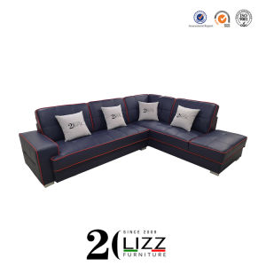 Living Room Furniture Modern Design Leather Sofa