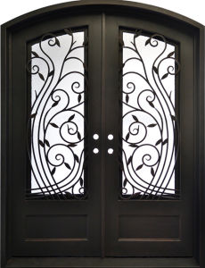 China Lobby House Front Safety Entrance Doors Design China House