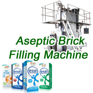 Sxb-3000A Juice-Milk-Drinks-Beverage Filling Machine for Aseptic Carton Packing Machine