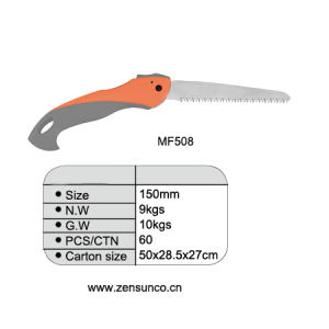 High Carbon Steel Plastic Handle Folding Saw pictures & photos