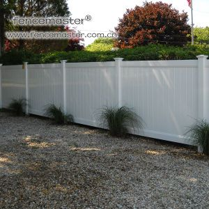 Economic Friendly PVC Fence pictures & photos