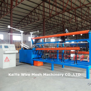 Full Automatic Diamond Mesh Fence Machine (manufacturers) pictures & photos