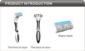 Popular Systemblade Shaving Razor Compete with Wilkinson pictures & photos