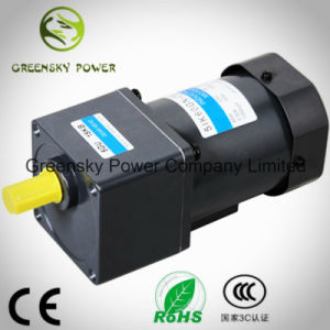 AC Asynchronous Single Phase 60W 90mm Induction Gear Motor