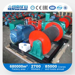 Fast Lifting Electric Winch Steel Wire Rope Speed Electric Winches pictures & photos