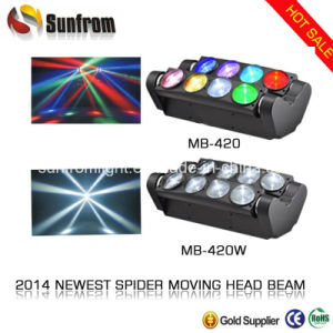 8*10W RGBW Spider Beam Effect LED Disco Light pictures & photos