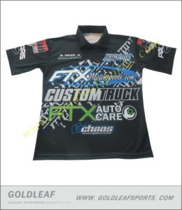 8e250f7db New Fashion Custom Sublimated Button up Racing Shirts Motorsports Shirt