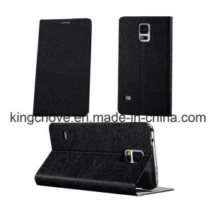 Fashion Good Quality Leather Samsung S5 I9600 Case (KCI37-3)