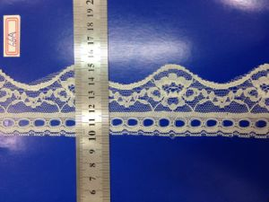 Wholesale Cheap Solid Non Stretch Nylon Lace for Lingerie pictures & photos