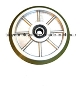 Kone High-Speed Guide Boot Wheel Used for Elevator/Lift